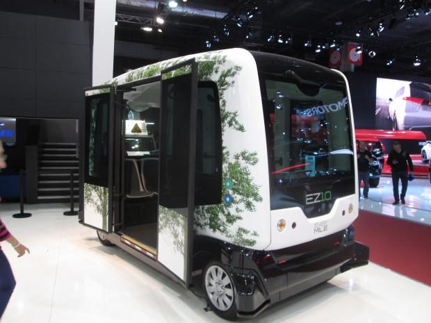 La voiture autonome au Mondial de l'Auto à Paris