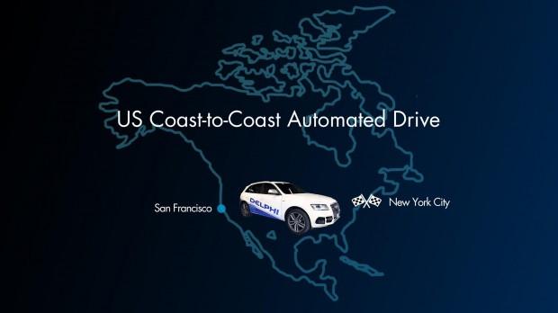 Nouvelle traversée des Etats-Unis en voiture autonome