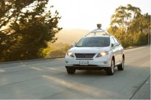 La Lexus autonome de Google.