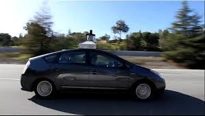 La Prius autonome de Google.