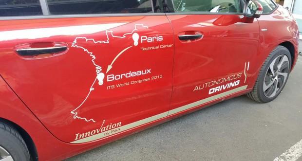 Les projets français de voiture autonome