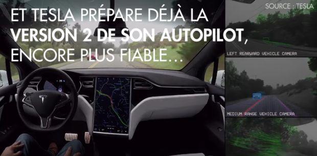 L'Autopilot de Tesla parvient à éviter un accident