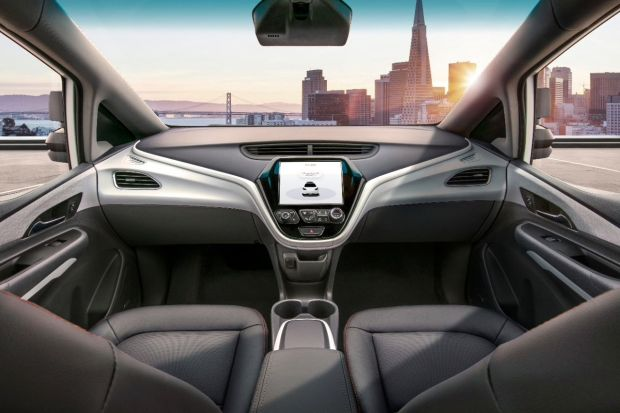 Pas de pédale ni de volant pour la voiture autonome de General Motors